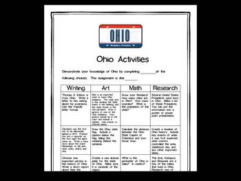 Ohio Differentiated State Activities