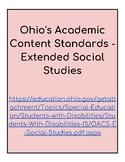 Ohio Extended Standards Grades 9-12 Social Studies Checklist