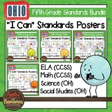"Ohio Fifth Grade Standards Bundle ""I Can"" Posters & Statem"