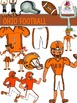 Ohio Football Clip Art {Buckeyes Browns Bengals}