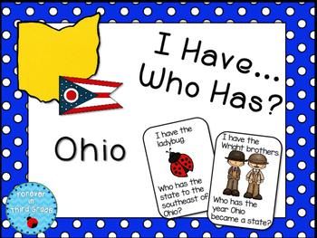 Ohio Game for 4th Grade Social Studies
