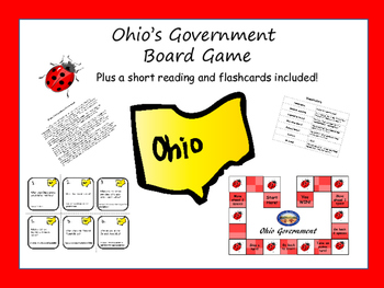 Ohio Government Board Game