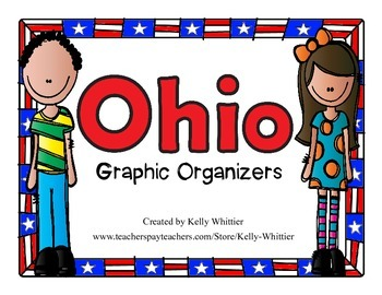 Ohio Graphic Organizers (Perfect for KWL charts and geography!)
