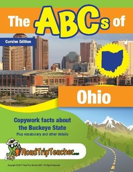 Ohio Handwriting Printables - Cursive Edition