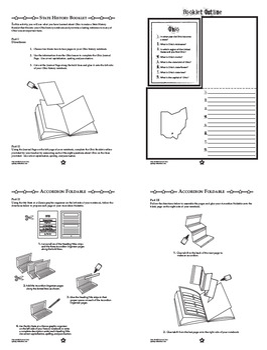Ohio History–Interactive Notebook Ohio State Study Unit + AUDIO!