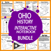 Ohio History State Study Bundle – NINE Engaging Literacy-Based Lessons