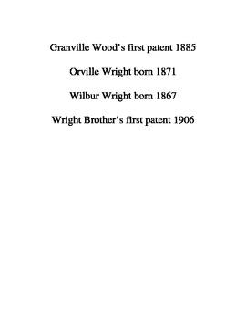 Ohio Inventors Moveable Timeline