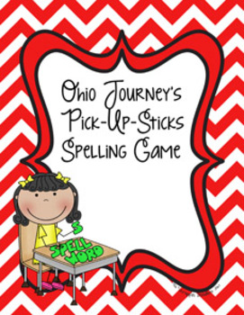 Ohio Journey's First-Grade Spelling Game