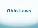 Ohio Laws PowerPoint
