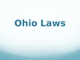 Ohio Laws PowerPoint