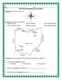 Ohio Map Skills Post-Assessment