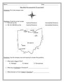 Ohio Map Skills Preassessment