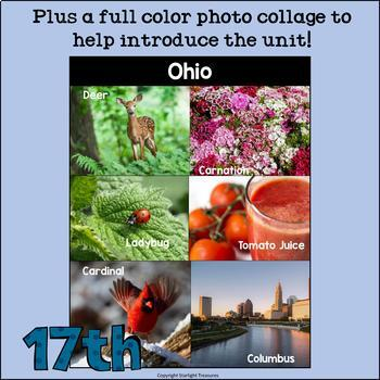 Ohio Mini Book for Early Readers - A State Study