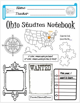 Ohio Notebook Cover