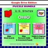 Ohio Puzzle BUNDLE - Word Search & Crossword Activities - U.S States - Google