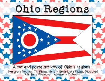 Ohio Regions cut and paste activity