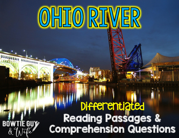 Ohio River Differentiated Nonfiction Reading Passages