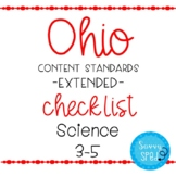 Ohio Science Extended Standards Checklist Grades 3-5