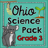 Ohio Science Notebook Printables Pack Grade 3
