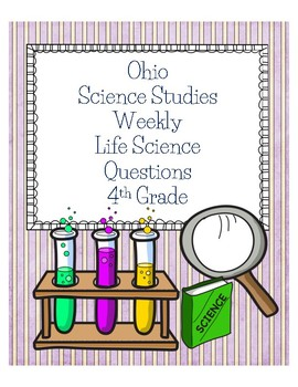 Ohio Science Studies Weekly Life Science Questions 4th Grade
