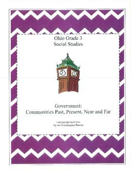 Ohio Social Studies:  Communities and Government Third Grade