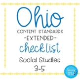 Ohio Social Studies Extended Standards Checklist Grades 3-5