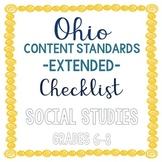 Ohio Social Studies Extended Standards Checklist Grades 6-8