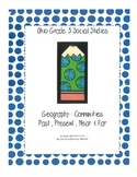 Ohio Social Studies:  Geography Third Grade
