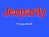 Ohio Social Studies Grade 7 CAP Jeopardy Review Game