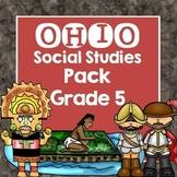Ohio Social Studies Pack Grade 5