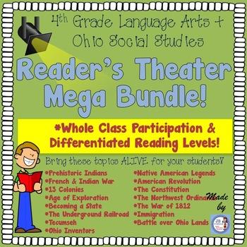 Ohio Social Studies Reader's Theater Mega Bundle!