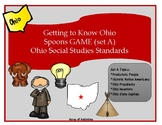 Spoons Game - Ohio Social Studies Set A