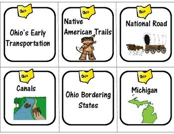 Ohio Social Studies Spoons Game - Set B