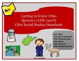 Spoons Game - Ohio Social Studies Set B
