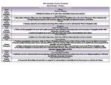 Ohio Social Studies Standards Grade 5 Curriculum Map