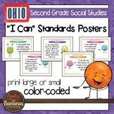 Ohio Social Studies Standards - Second Grade Posters