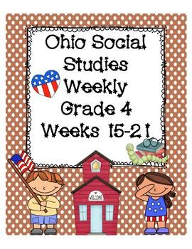 Ohio Social Studies Weekly Grade 4 Weeks 15-21 Questions