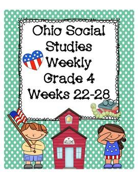 Ohio Social Studies Weekly Grade 4 Weeks 22-28 Questions