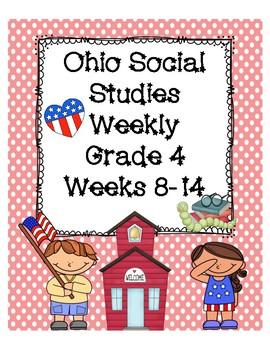 Ohio Social Studies Weekly Grade 4 Weeks 8-14 Questions