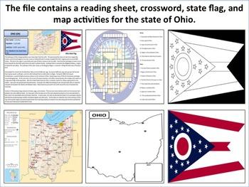 Ohio - State Activity Set