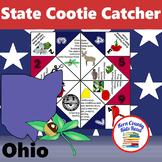Ohio State Facts and Symbols Cootie Catcher Distance Learn