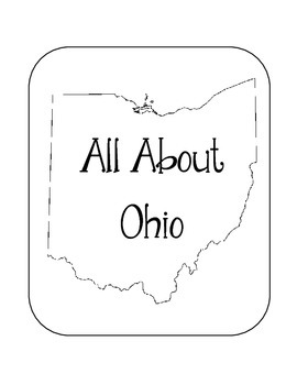 Ohio State Lapbook. Interactive Notebook. US History and Geography