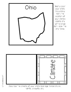 Ohio State Research Lapbook Interactive Project