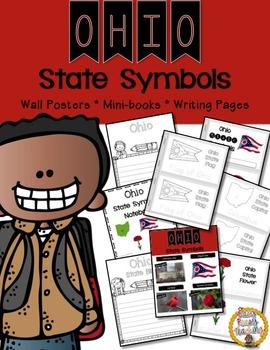 Ohio State Symbols Notebook