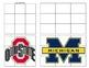 Ohio State vs Michigan activity