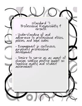 Ohio Teacher Standards