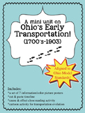 Ohio Transportation mini unit (4th grade social studies)