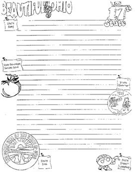 Ohio Writing Paper