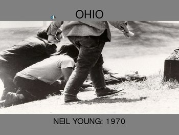 Ohio kent State shooting song Crosby Stills Nash Young