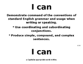 "Ohio literature standards ""I can"" statements 3rd grade"